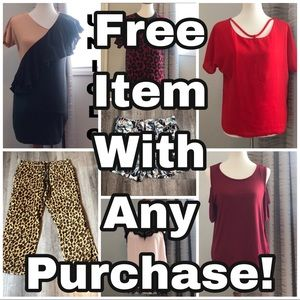 Check out my free items with any purchase